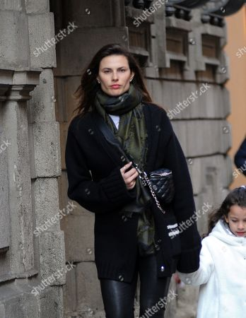Editorial photo of Dayane Mello out and about, Milan, Italy - 21 Feb 2019