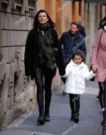 Dayane Mello and daughter Sofia