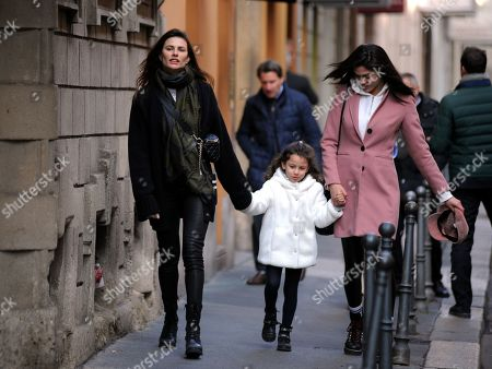 Stock Photo of Dayane Mello and daughter Sofia