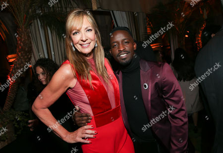 Allison Janney and Elijah Kelley