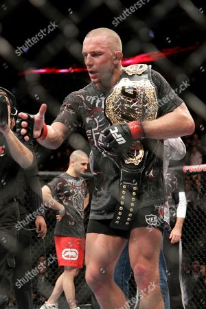 Editorial picture of UFC 111 Mixed Martial Arts, Newark, USA - 27 Mar 2010