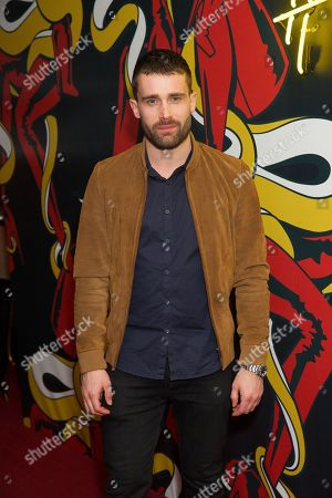 Stock Photo of Christian Cooke