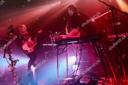 Stock Picture of The Joy Formidable - Ritzy Bryan, Matt Thomas and Rhydian Dafydd
