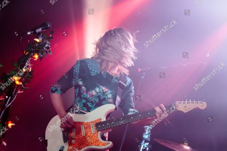 Editorial photo of The Joy Formidable in concert at O2 Institute, Birmingham, UK - 21 Feb 2019