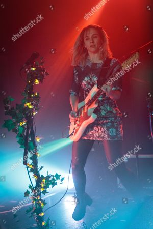Editorial picture of The Joy Formidable in concert at O2 Institute, Birmingham, UK - 21 Feb 2019