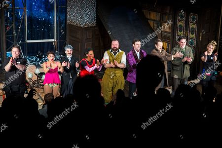 Editorial image of 'The Play That Goes Wrong' play opening night, New York, USA - 20 Feb 2019