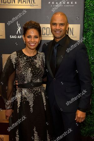 Salli Richardson-Whitfield, Dondre Whitfield. Salli Richardson-Whitfield, left, and Dondre Whitfield arrive at the 7th Annual ICON MANN Pre-Oscar Dinner at the Waldorf Astoria, in Beverly Hills, Calif