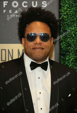 ELEW arrives at the 7th Annual ICON MANN Pre-Oscar Dinner at the Waldorf Astoria, in Beverly Hills, Calif