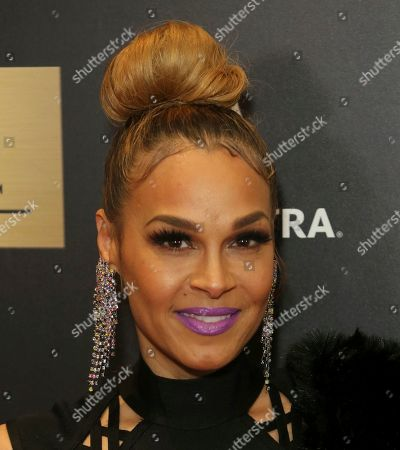 Stock Picture of Sheree Fletcher arrives at the 7th Annual ICON MANN Pre-Oscar Dinner at the Waldorf Astoria, in Beverly Hills, Calif