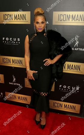 Stock Photo of Sheree Fletcher arrives at the 7th Annual ICON MANN Pre-Oscar Dinner at the Waldorf Astoria, in Beverly Hills, Calif