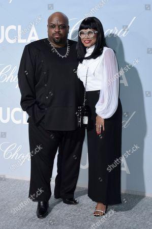 Cee Lo Green, Shani James. Cee Lo Green, left, and Shani James attend the 2019 Hollywood for Science Gala, in Los Angeles