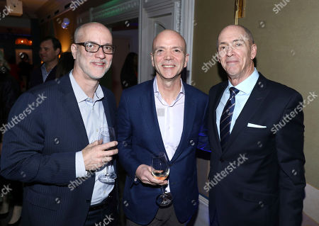 Chris Aronson, Kevin Yeaman, John Fithian. Dolby Laboratories celebrates the 91st Academy Award nominees in the Best Cinematography, Sound Editing, and Sound Mixing categories at h Club in Hollywood on . (L-R) Chris Aronson, President of Domestic Distribution, 20th Century Fox Film, Kevin Yeaman, President and CEO, Dolby Laboratories and John Fithian, President and CEO, National Association of Theatre Owners