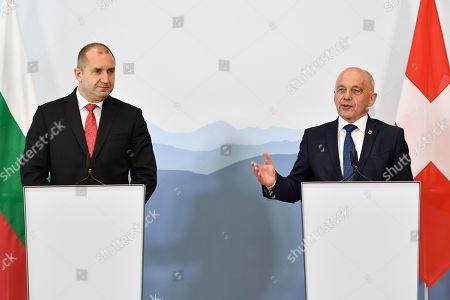 Bulgarian President Rumen Radev visit to Switzerland
