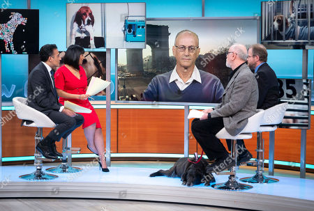 Adil Ray and Ranvir Singh with Prof Dominic and Peter Egan