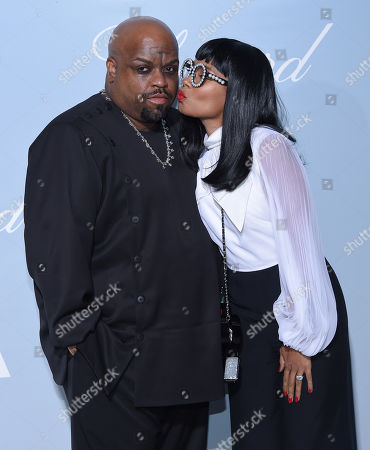 Cee Lo Green and fiancé Shani James
