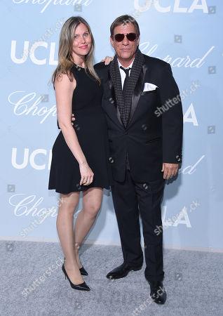 Christine Bolster and Robert Davi