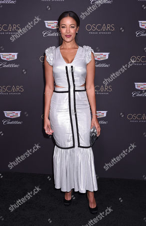 Editorial image of Cadillac Oscar Party, Arrivals, Chateau Marmont, Los Angeles, USA - 21 Feb 2019