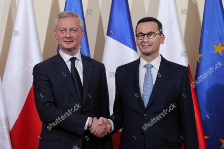 Bruno Le Maire visit to Poland
