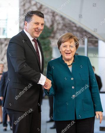 President of Latvia Rimonds Vejonis visit to Berlin
