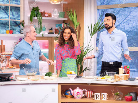 Editorial picture of 'This Morning' TV show, London, UK - 22 Feb 2019