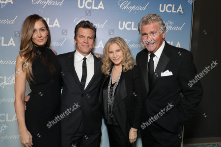Kathryn Boyd Brolin, Josh Brolin, Barbra Streisand and James Brolin