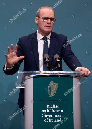 Brexit Omnibus Bill press conference, Dublin