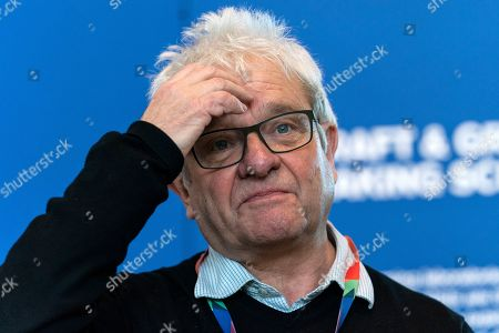Stock Photo of The Director of the Francis Crick Institute Sir Paul Nurse at the Francis Crick Institute, Central London, 22 February 2019. Sir Nurse was a attending the opening of a new exhibition called  'Craft and Graft: Making Science Happen'.