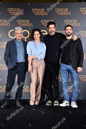 Fabrizio Bentivoglio, Jasmine Trinca, Alessandro Gassmmann, Filippo Scicchitano