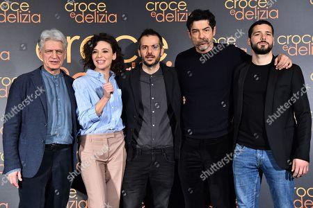 Fabrizio Bentivoglio, Jasmine Trinca, Simone Godano, Alessandro Gassmmann, Filippo Scicchitano