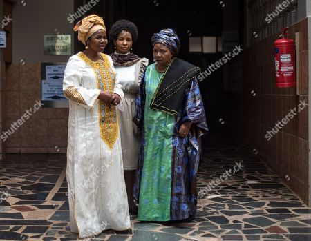South African Minister for Planning, Monitoring and Evaluation Nkosazana Dlamini-Zuma (R) attends the Colloquium on Land Reform held at the Saint George Hotel and Conference Centre in Irene, Pretoria, South Africa, 22 February 2019. The two day meeting will be focused on the way forward with regard to the highly emotional topic of land reform in the country.