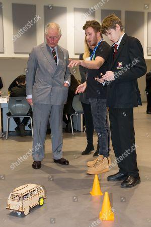 Prince Charles visit to Wales