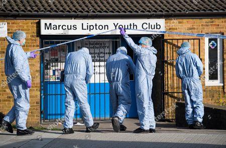 Youth club murder, Brixton, London