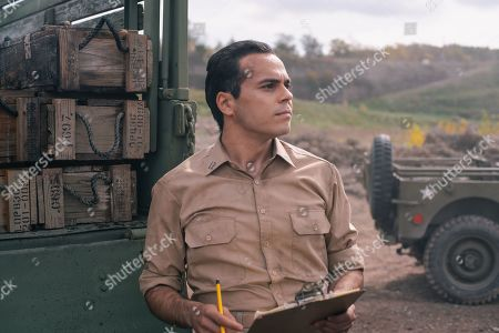 Stock Photo of Nicholas Combitsis as Richard Nixon