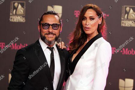 Diego Torres and Debora Bello
