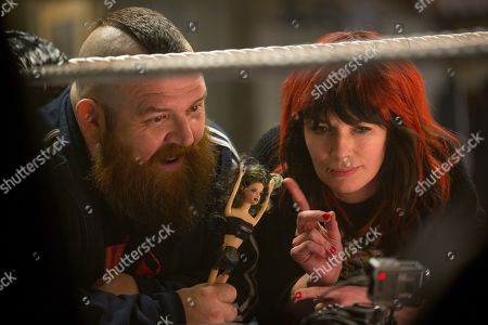 Nick Frost as Ricky Knight and Lena Headey as Julia Knight