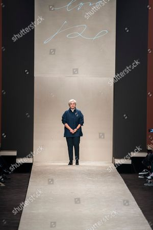 Editorial picture of Fendi show, Runway, Fall Winter 2019, Milan Fashion Week, Italy - 21 Feb 2019