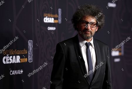 Radu Mihaileanu arrives for the 44th annual Cesar awards ceremony held at the Salle Pleyel concert hall in Paris, France, 22 February 2019.