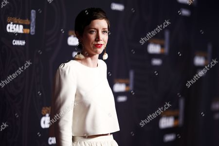 Sara Giraudeau arrives for the 44th annual Cesar awards ceremony held at the Salle Pleyel concert hall in Paris, France, 22 February 2019.