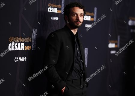 William Lebghil arrives for the 44th annual Cesar awards ceremony held at the Salle Pleyel concert hall in Paris, France, 22 February 2019.