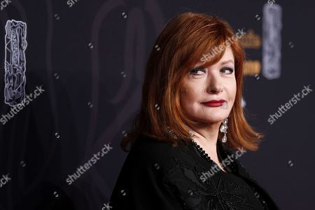 Catherine Jacob arrives for the 44th annual Cesar awards ceremony held at the Salle Pleyel concert hall in Paris, France, 22 February 2019.