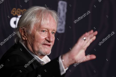 Niels Arestrup arrives for the 44th annual Cesar awards ceremony held at the Salle Pleyel concert hall in Paris, France, 22 February 2019.