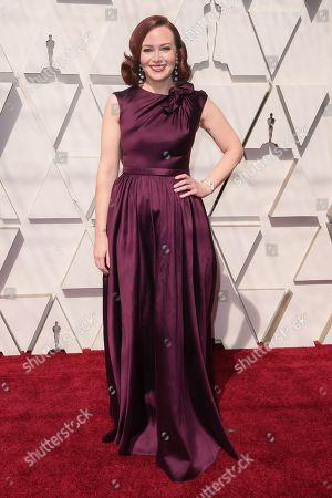 Editorial image of 91st Annual Academy Awards, Arrivals, Los Angeles, USA - 24 Feb 2019