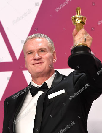 Editorial image of 91st Annual Academy Awards, Press Room, Los Angeles, USA - 24 Feb 2019
