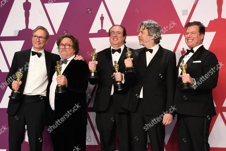 Jim Burke, Charles B. Wessler, Brian Currie, Peter Farrelly and Nick Vallelongo - Best Picture - Greenbook
