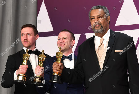 Charlie Wachtel, David Rabinowitz and Kevin Willmott - Best Adapted Screenplay - 'BlacKkKlansman'