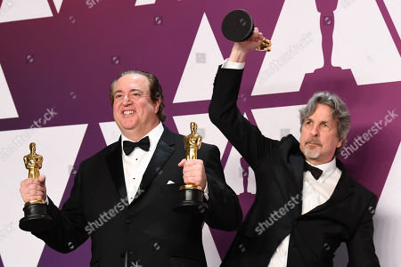 Brian Currie and Peter Farrelly - Best Picture - 'Greenbook'