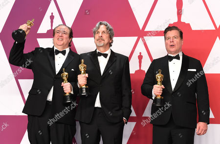 Nick Vallelonga, Brian Currie and Peter Farrelly - Original Screenplay - 'Green Book'