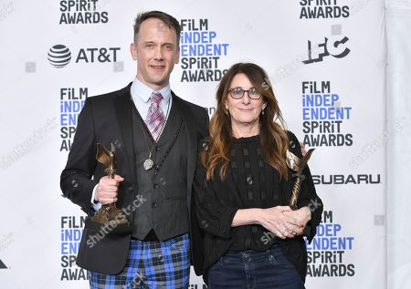 Jeff Whitty and Nicole Holofcener - Best Screenplay - 'Can You Ever Forgive Me?'