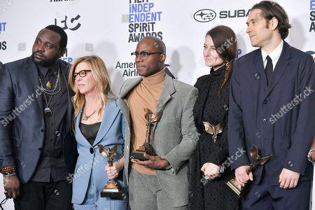 Brian Tyree Henry, Dede Gardner, Barry Jenkins, Adele Romanski and Jeremy Kleiner - Best Feature - 'If Beale Street Could Talk'