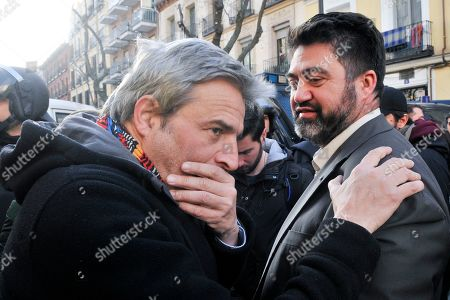 Editorial picture of Family evictions on Argumosa street, Madrid, Spain - 22 Feb 2019